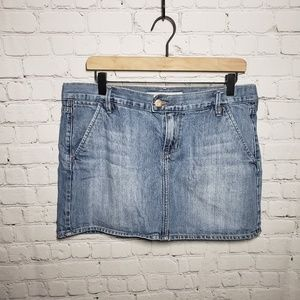 Old Navy Blue Denim Skirt size 12